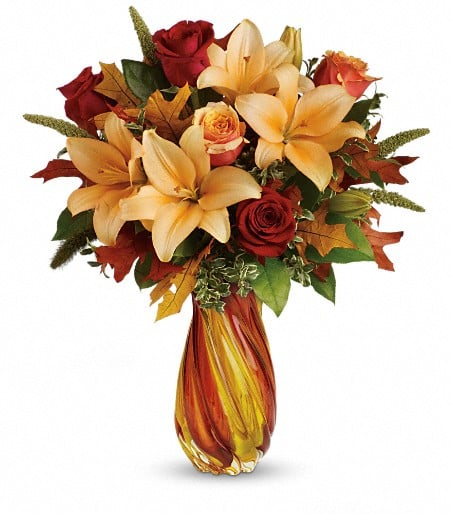 Teleflora's Treasures of Fall Bouquet