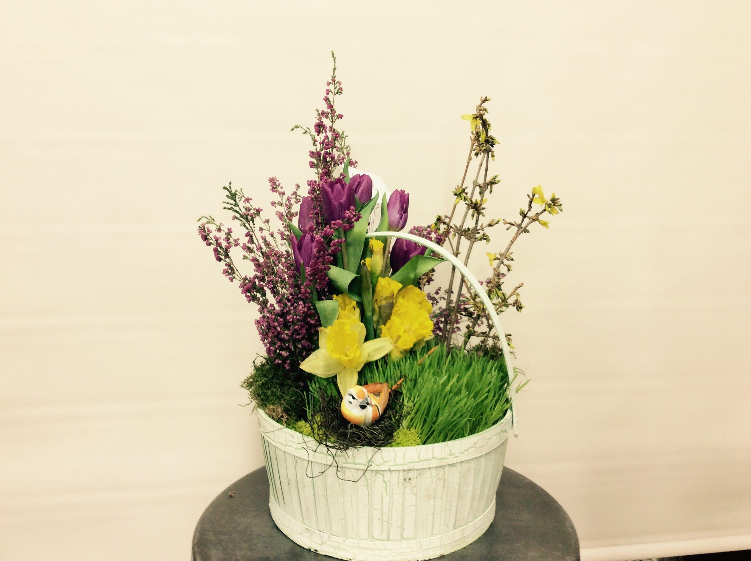 Easter Tulip Basket
