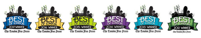Best of London 2012-2017