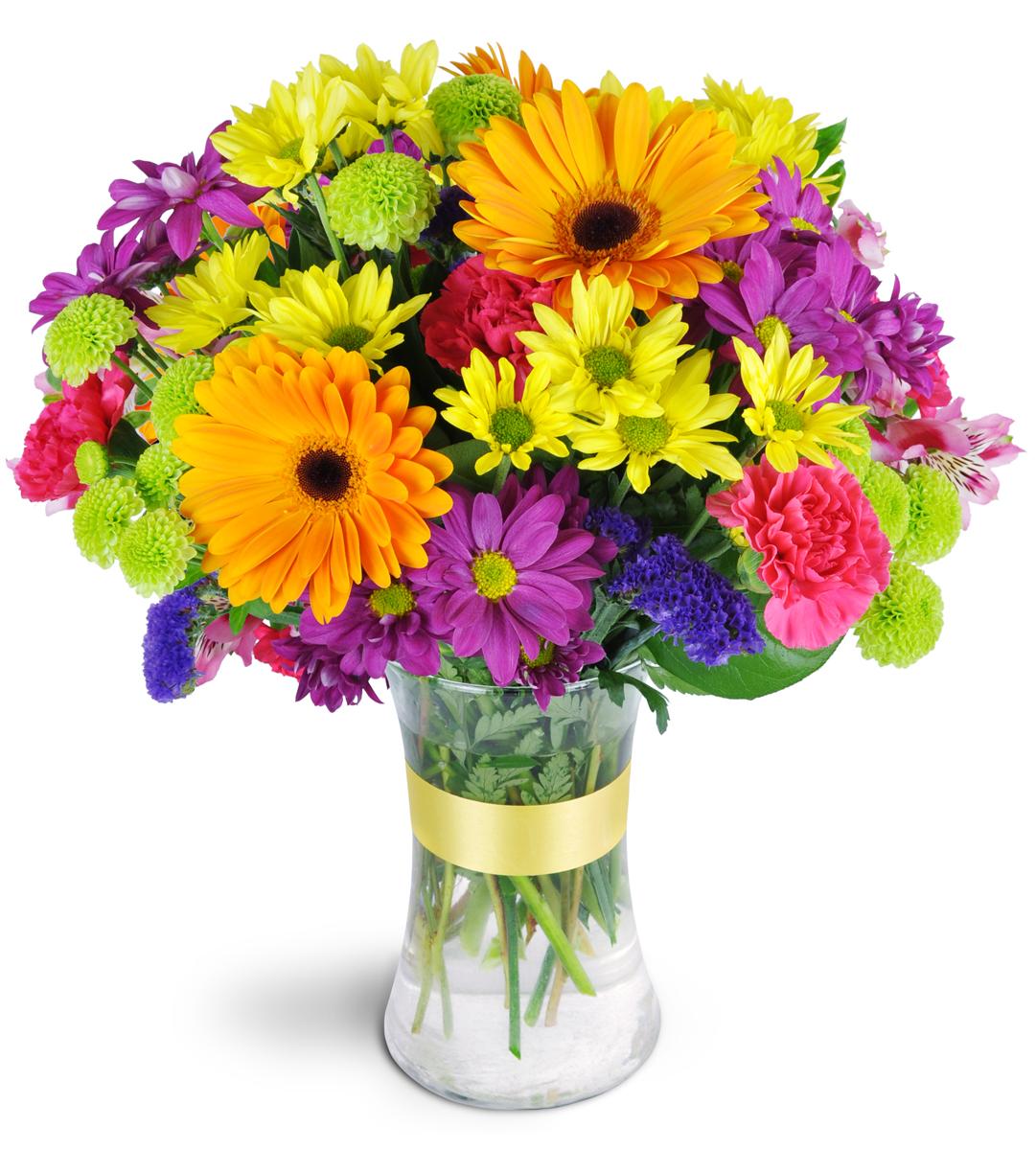 Radiant rainbow calgary ab florist izmirmasajfo