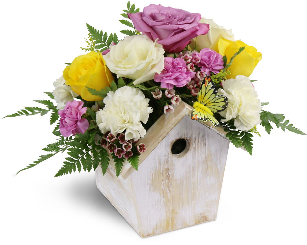 Birdhouse Of Blooms Spring Hill Fl Florist