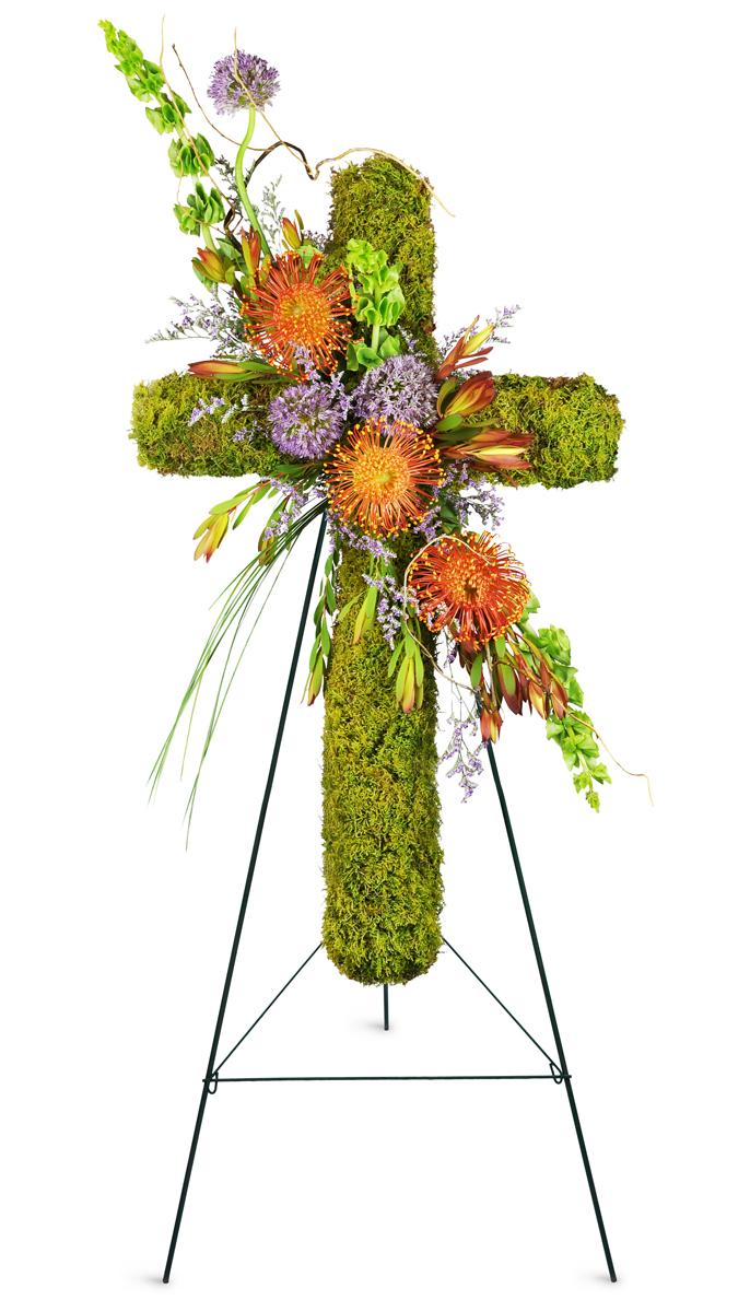 Natural Beauty Sympathy Cross Altamonte Springs Fl Florist