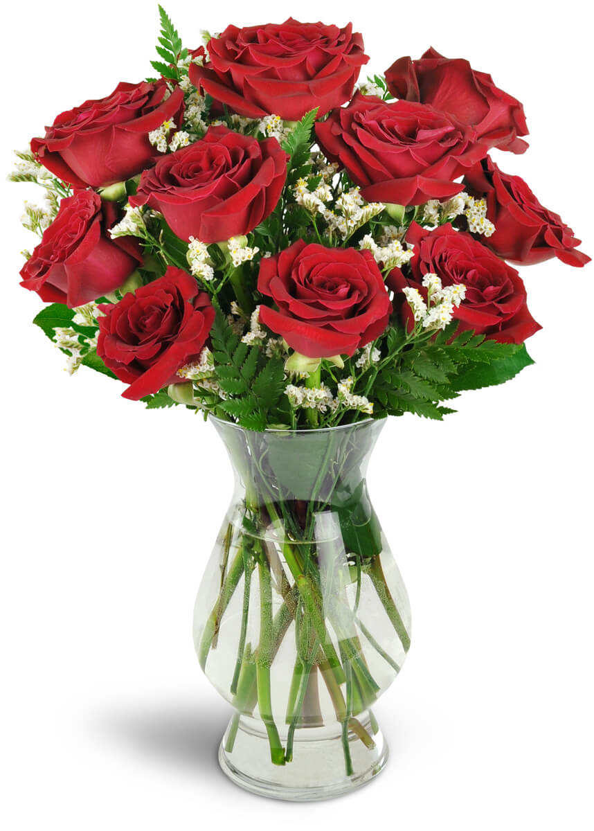 Devoted To You Red Roses Prosper Tx Florist