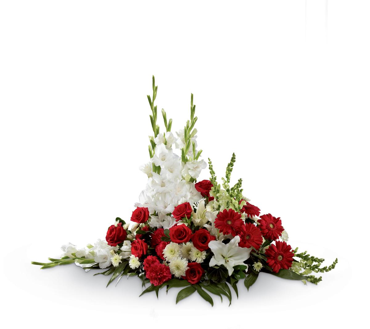 The Ftd Crimson White Arrang Altamonte Springs Fl Florist