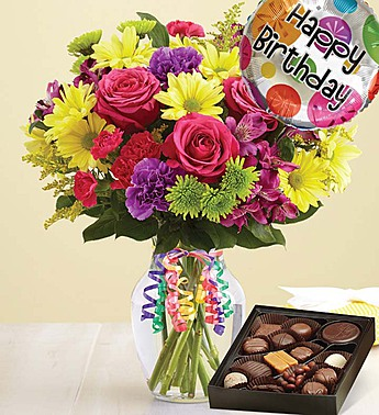It S Your Day Bouquet Happy Birthday With Chocolate
