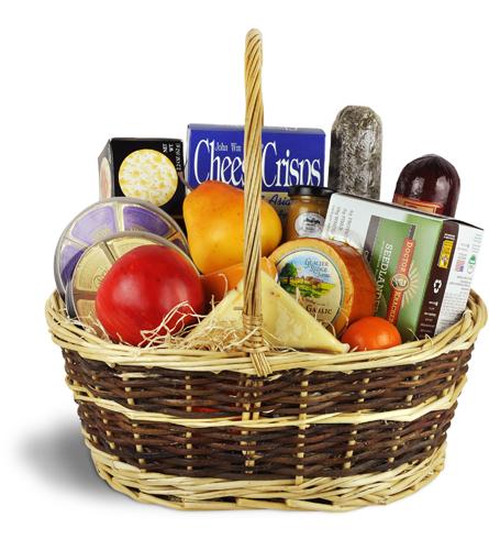 Warm wishes gourmet basket edmonton ab florist negle Images