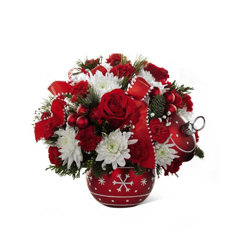 The FTDR Seasons GreetingsTM Bouquet 2016
