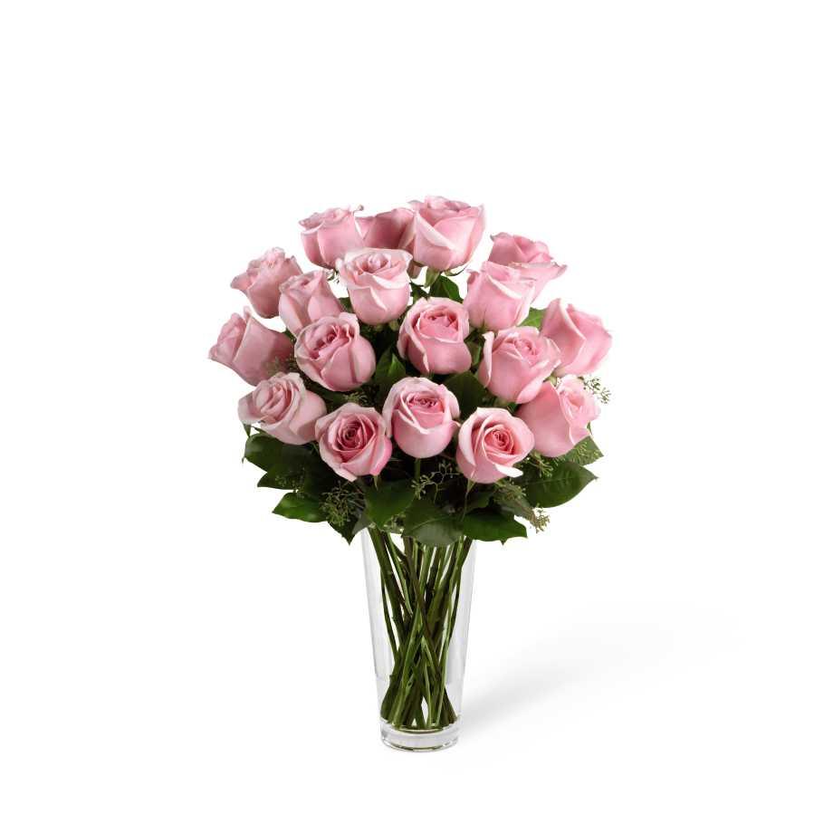 The long stem pink rose bouquet by ftd boonton nj florist izmirmasajfo