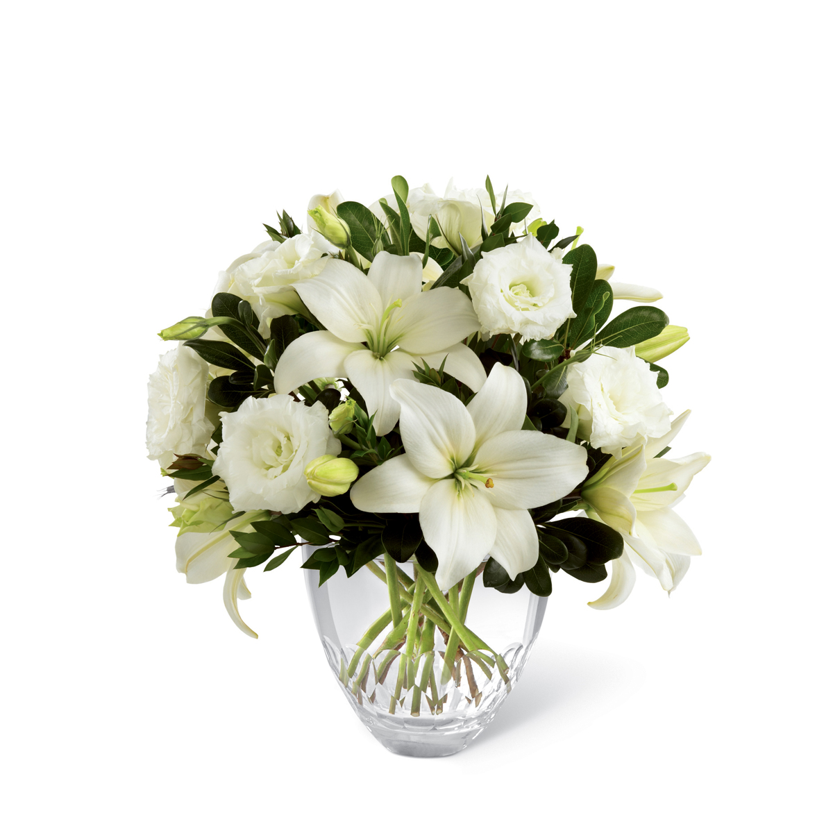 The Ftd White Elegance Bouquet Gulfport Ms Florist