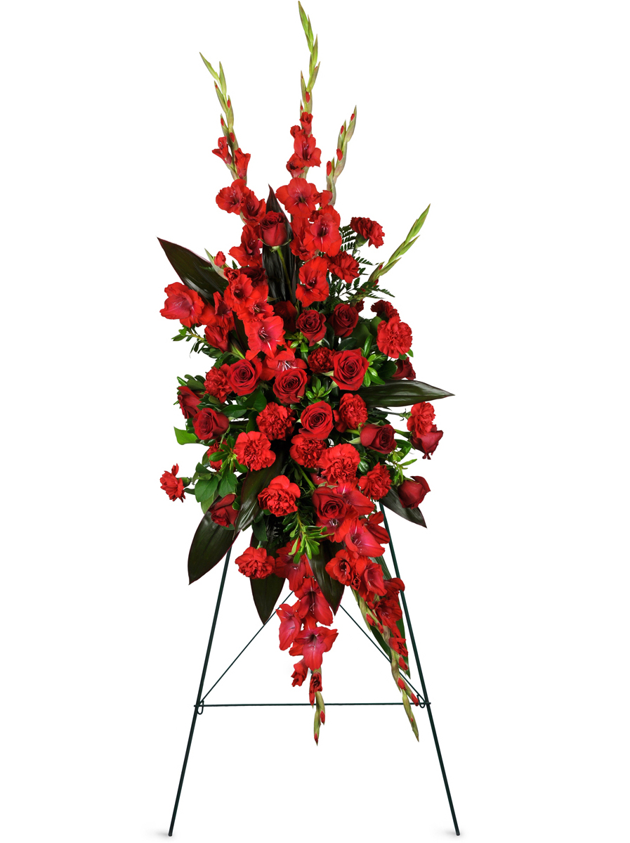 Always Remembered Sympathy Spray Bronx Ny Florist