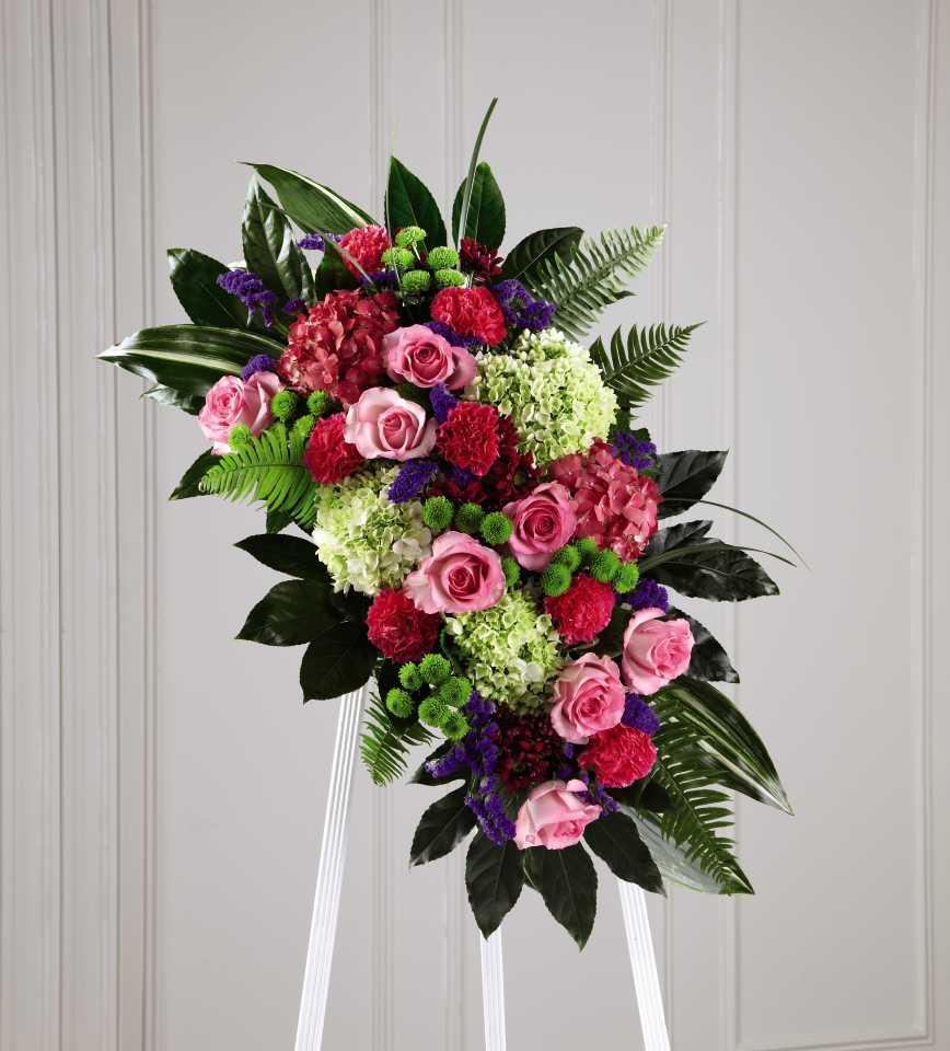 The ftd refreshing mix standing spray calgary ab florist izmirmasajfo