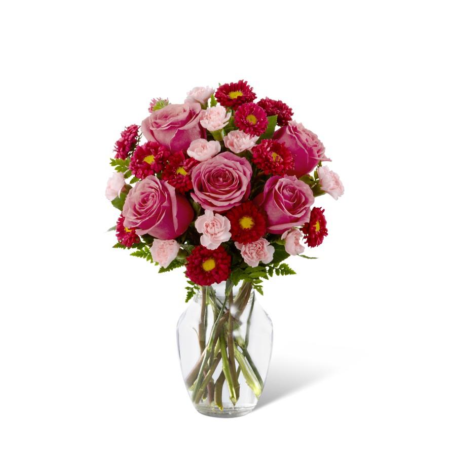 The florist designed bouquet by ftd iowa city ia florist izmirmasajfo