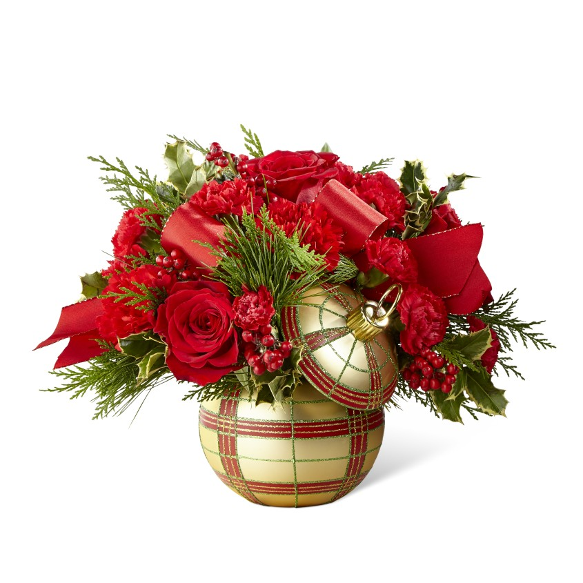 The FTDR Holiday DelightsTM Bouquet