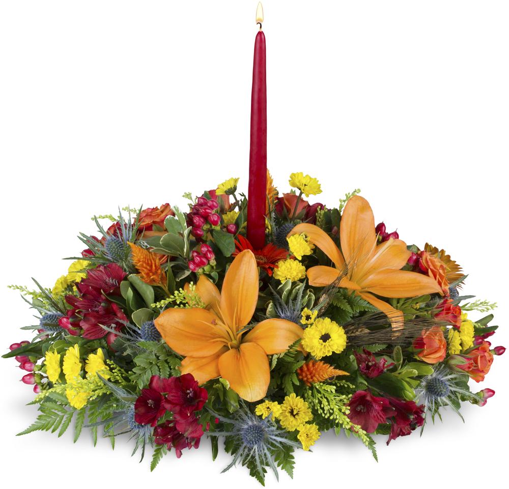 Warm And Wonderful Centerpiece Bronx Ny Florist