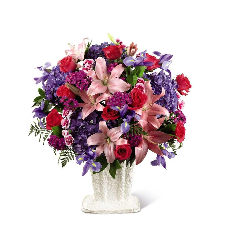 The Ftd We Fondly Remember Arrangement Calgary Ab Florist