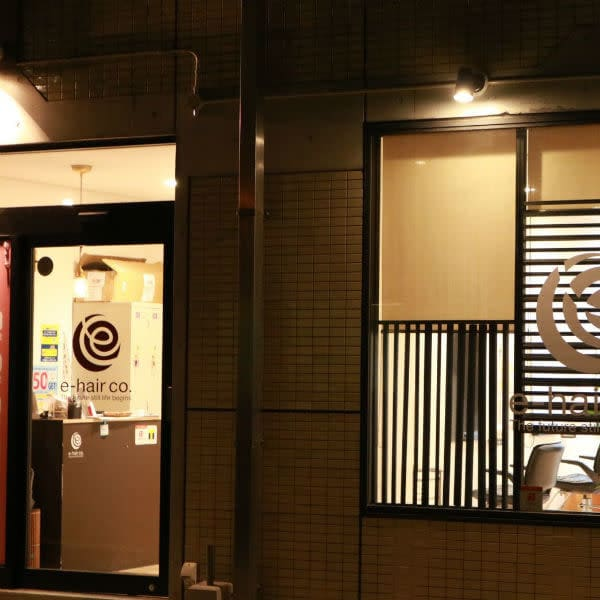 e-hair co. 新大工店【イーヘアーシーオードット】