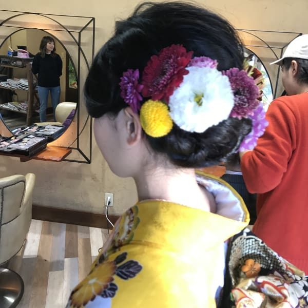 Hair make Chou Chou