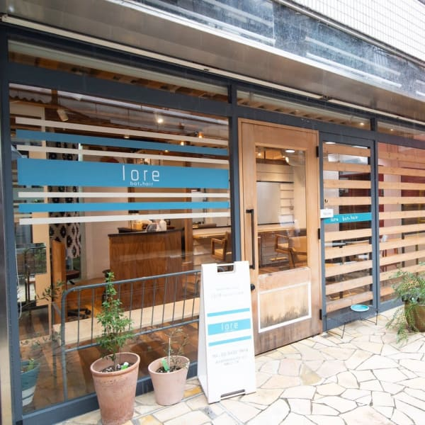 lore bat.hair 下北沢