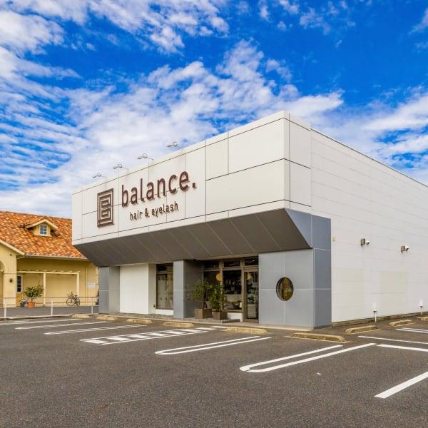 balance. hair & eyelash 野田店