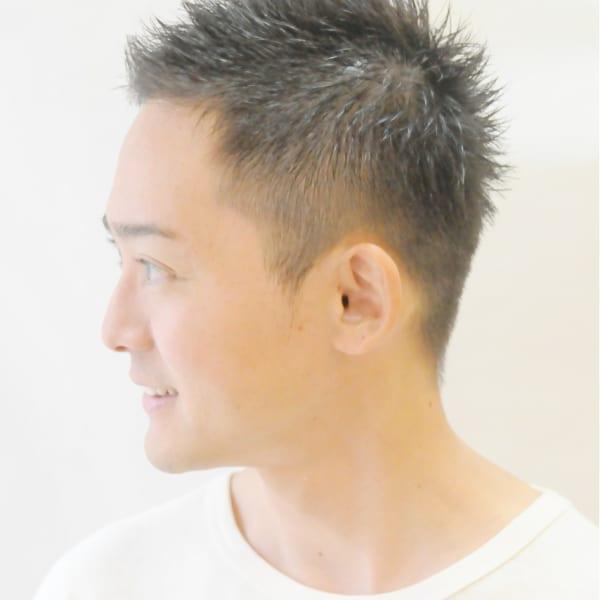 メンズのオススメ順】40代/ベリーショートの髪型・ヘアスタイル