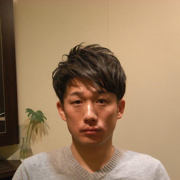 男性 髪型 代 40