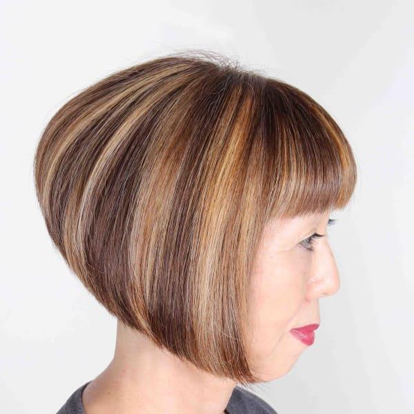 オススメ順】40代/グラデーションカラー/ショートの髪型・ヘア