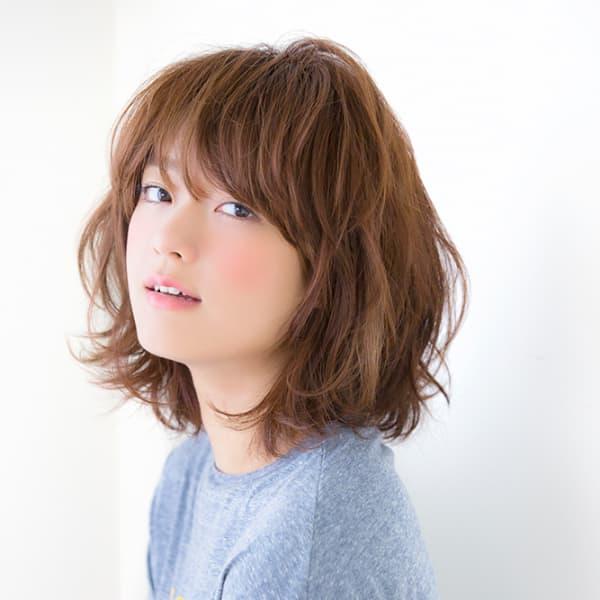 オススメ順】50代~/ミディアムの髪型・ヘアスタイル