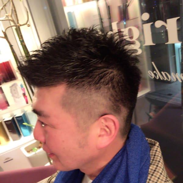 メンズのオススメ順】40代/ツーブロックの髪型・ヘアスタイル