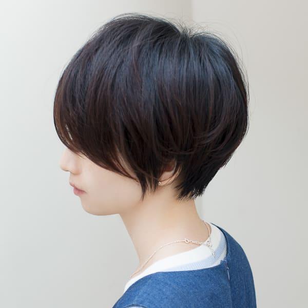 オススメ順 30代 黒髪 ショートの髪型 ヘアスタイル 楽天ビューティ