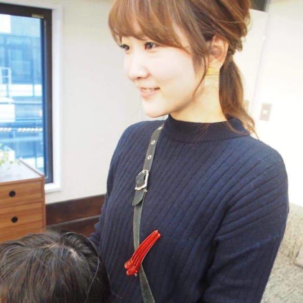 moi女性スタイリスト 林(旧山田) 麻里恵(13年)