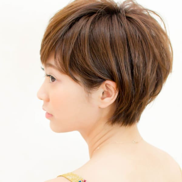 オススメ順】40代/ベリーショートの髪型・ヘアスタイル