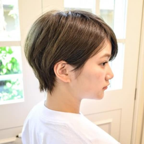 オススメ順 10代 ベリーショートの髪型 ヘアスタイル 楽天ビューティ