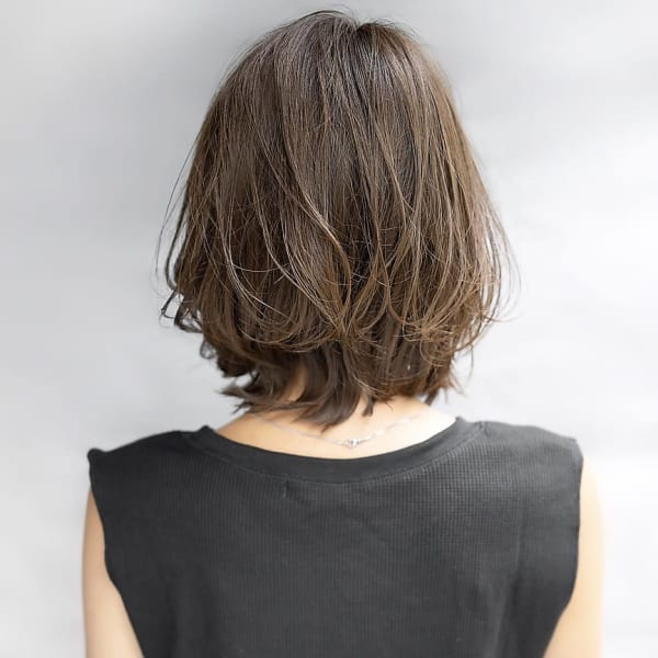 楽 40 手入れ が 代 髪型