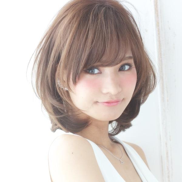 女の子 髪型 ミディアム