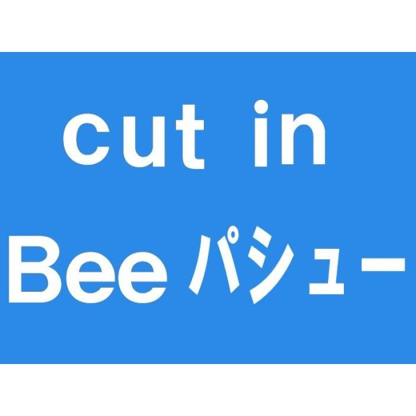 cut in Bee パシュー