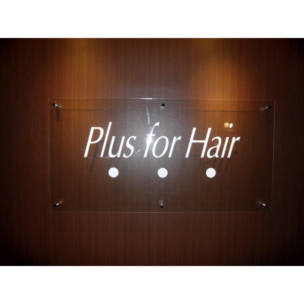 PLUS for hair
