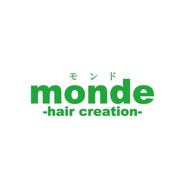 monde-hair creation-下荒田店