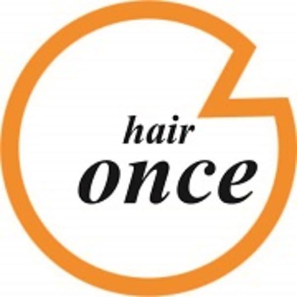 hair once