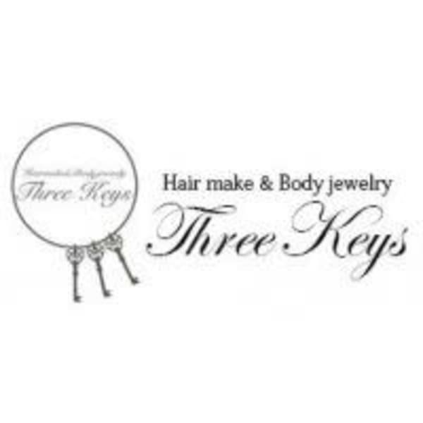 福岡天神 ヘアセット専門店 Three-keys