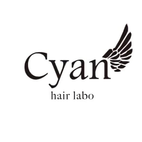 Cyan hair labo