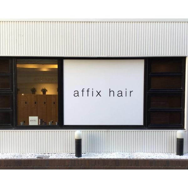affix hair