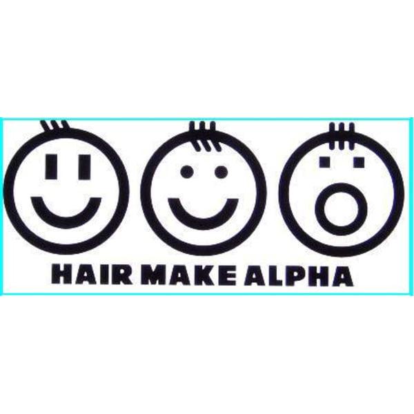 HAIR MAKE ALPHA
