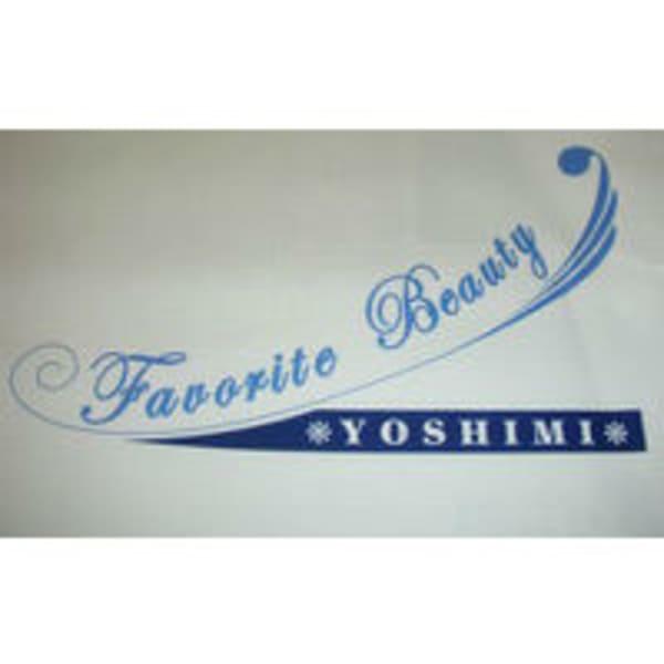 Favorite Beauty YOSHIMI