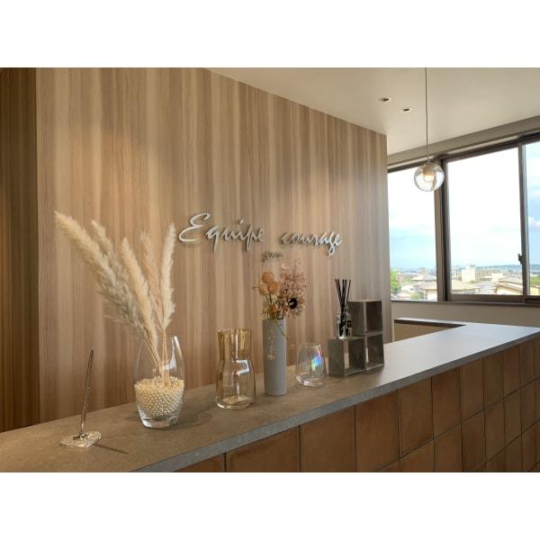 Equipe courage gran.