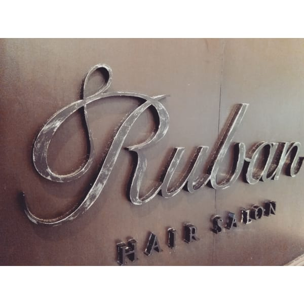 HAIR SALON Ruban