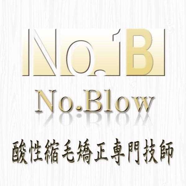 No.Blow 酸性縮毛矯正専門技師