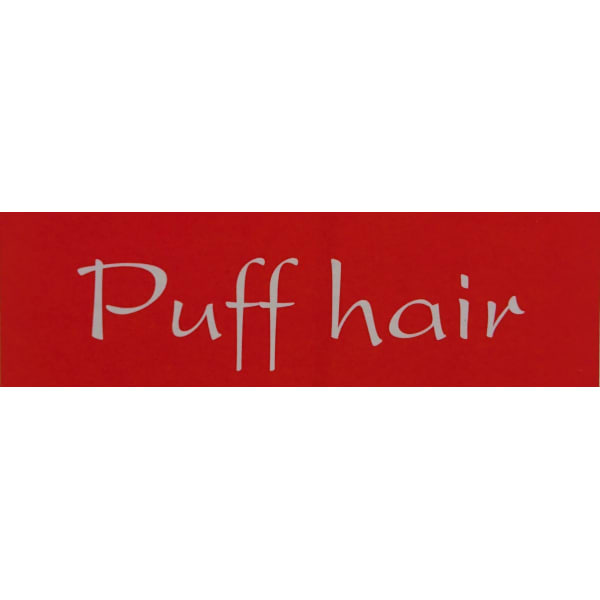 Puff hair