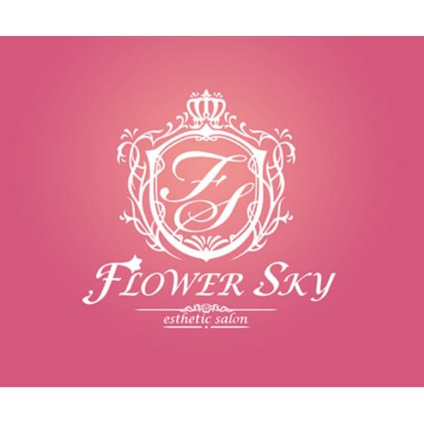 Esthetic Salon  Flower Sky