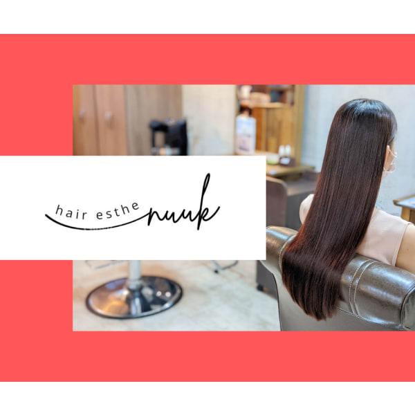 【髪のエステ専門店】 nuuk