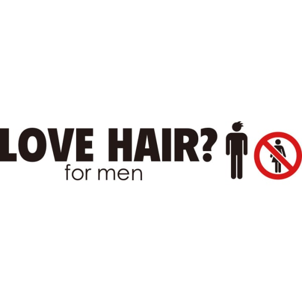 LOVE HAIR? for men 1st